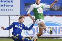 V prvním utkání jarního kola Synot ligy porazili domácí fotbalisté soupeře z Jihlavy 2:0. Body zůstaly na Střelnici.
