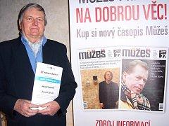 Nadace Charty 77 poprvé udělila ceny seniorům.  V konkurenci 115 jednotlivců vyhrál desenský ekolog Zdeněk Joukl.