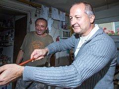Cesare Toffolo na Železnobrodsku a Jablonecku