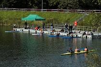 FOTO č. 3 Jakou vodu brázdili v sobotu 18. září vodáci na kanoistické akci?