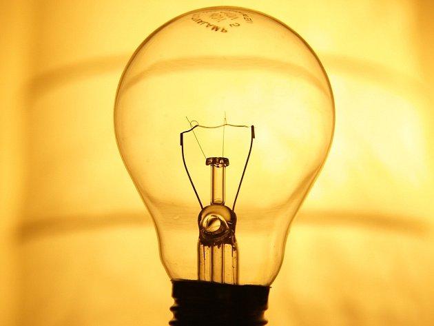 Elektrická energie. Ilustrační snímek.