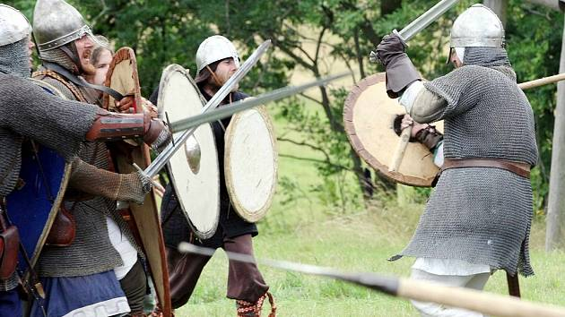 Sdružení Curia Vítkov připravilo další středověkou bitvu