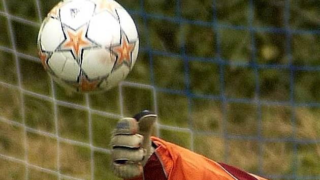 Fotbalové utkání.Ilustrační obrázek.