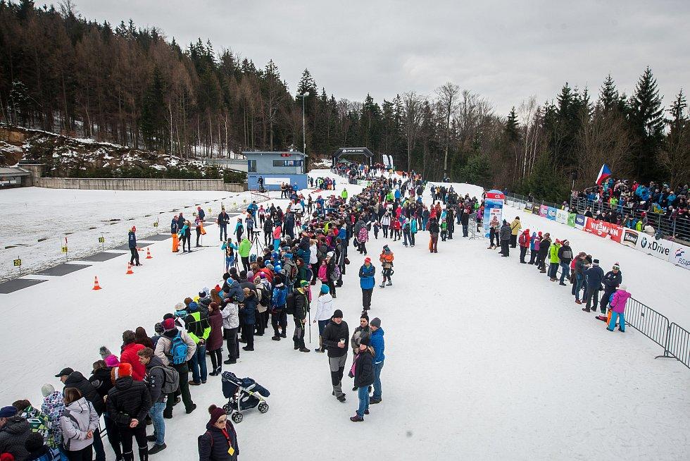 Exhibiční Mistrovství České republiky v biatlonovém supersprintu proběhlo 23. března ve sportovním areálu Břízky v Jablonci nad Nisou.
