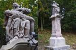 Vloňském roce proběhlo restaurování sousoší Piety vPulečném.
