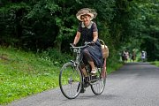 Spanilá jízda Cyklostezkou Járy Cimrmana z Návarova do Tanvaldu proběhla 10. června již potřinácté.
