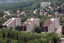 Harcovské koleje technické univerzity v Liberci.