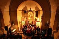 Advent v kostelíku sv. Josefa v Loučné.