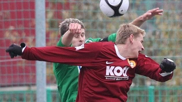 Mistrovské utkání ČFL mezi FK Baumit Jablonec, a.s. B a FC Písek.