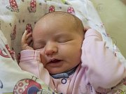 ANASTÁZIE HANUŠOVÁ se narodila v neděli 29. října mamince Zdeňce Hanušové ze Světlé pod Ještědem. Měřila 49 cm a vážila 3,67 kg.