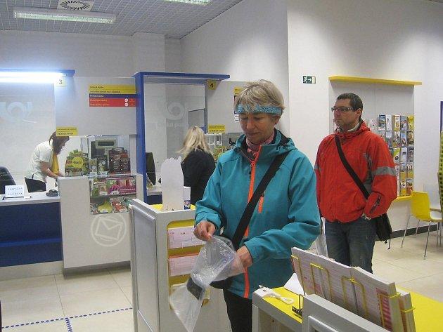 Nová pobočka České pošty otevřela včera v obchodním centru Rýnovka.