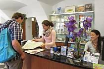 Na jabloneckém Turistickém informačním centru