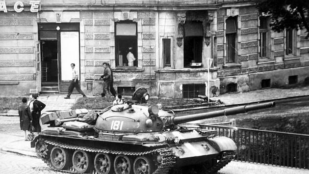 Okupace v roce 1968.