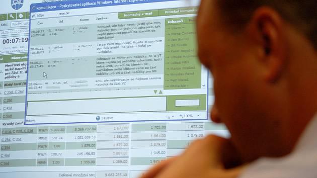 Ilustrační snímek elektronické aukce.
