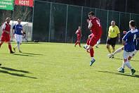 Ve velikonočním utkání I. B třídy východ si hosté na hřišti domácích Albrechtic vykoledovali tři góly.