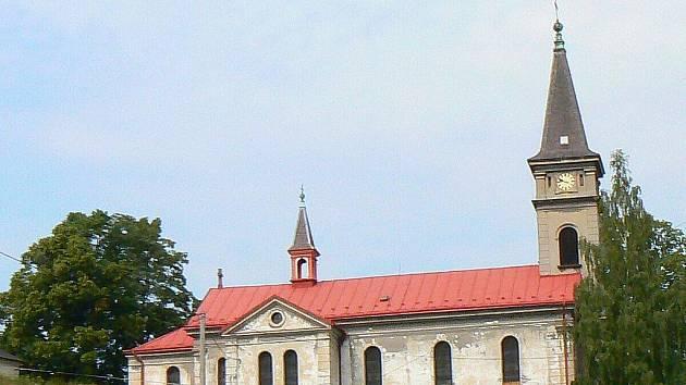 Kostel Navštívení Panny Marie v Lučanech nad Nisou