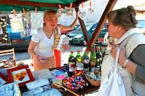 Farmářské trhy v Železném Brodě.