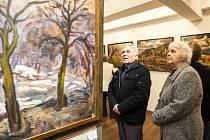 Obrazy z domova Vladimíra Hlubučka