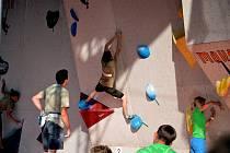 4. kolo Rock Point Český pohár v boulderingu se konal minulý víkend u jablonecké přehrady.