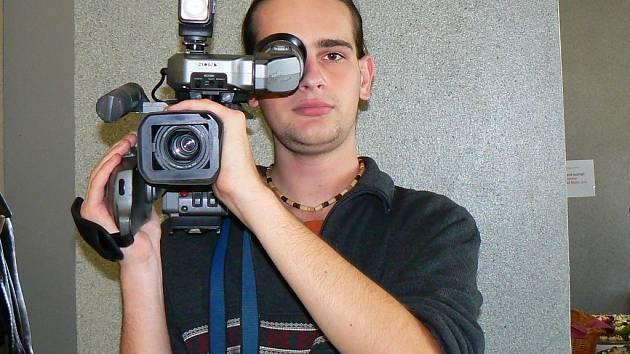 Jan Petráň, kameraman regionální televize