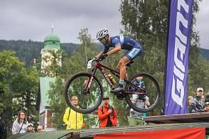 Škoda Auto Mistrovství České republiky horských kol vOlympijském cross-country v Harrachově