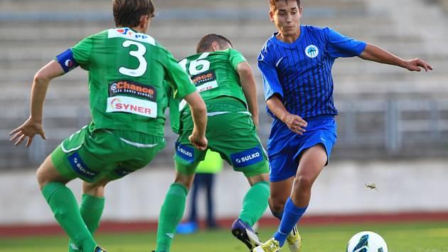 Dorost Jablonce nestačil v derby na Slovan Liberec a prohrál 1:0.