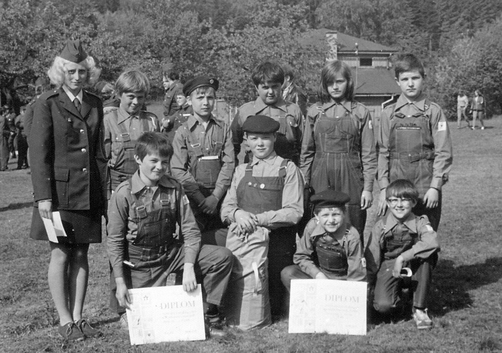 Historické fotografie z Lučan nad Nisou.