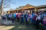 Vodáci zahájili 7. dubna na Malé Skále na Jablonecku sezonu odemykáním Jizery.