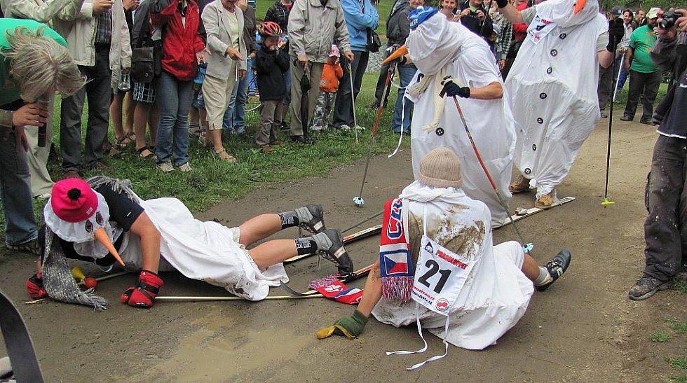 11. ročník závodu Prasoloppet se konal u jablonecké přehrady v sobotu odpoledne. Na tří kilometrovou trať okolo první přehrady vyrazil rekordní počet 61 borců. Nejrychleji si počínal obhájce loňského titulu Honza Hásek s časem 17 minut.