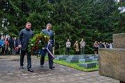 Město si připomnělo 72. výročí konce 2. světové války.