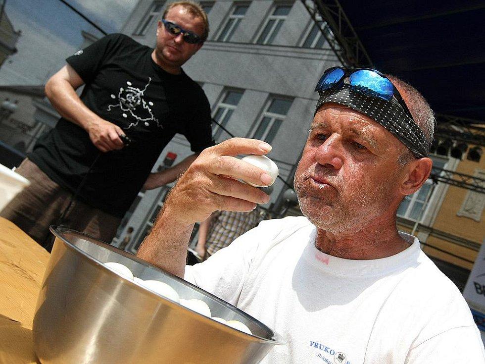 20. ročník festivalu rekordů a kuriozit v Pelhřimově.