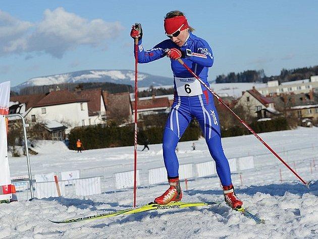 Helena Erbenová získala během týdne evropský a český mistrovský titul v zimním triatlonu.