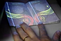 Cestovní pas. Ilustrační snímek.
