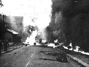 Srpen 1968 na Jablonecku. Tragédie v Desné. Při požáru cisterny zemřela babička s vnučkou.