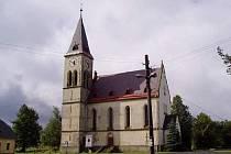 Kostel Nejsvětějšího Srdce Páně Horní Maxov