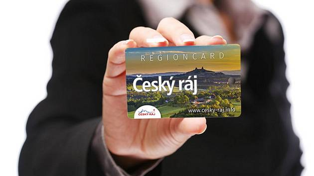 Regionální karta hosta Český ráj