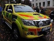 Zdravotnická záchranná služba Libereckého kraje pořídila nové vozidlo technologické a komunikační připravenosti.