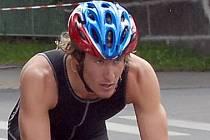 Jablonecký triatlonista Jan Francke