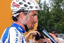 Králem Šumavy se stal letos Ondřej Fojtík, Lukáš Bauer dojel na trase 70 km na druhém místě.