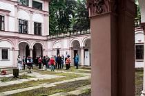 Nádvoří Liebiegova paláce