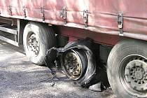Řidič kamionu svou pohotovostí zachránil vůz i náklad, vše v hodnotě přibližně dvou milionů korun.