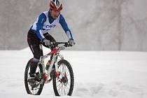 Zimní triatlon v Jablonci