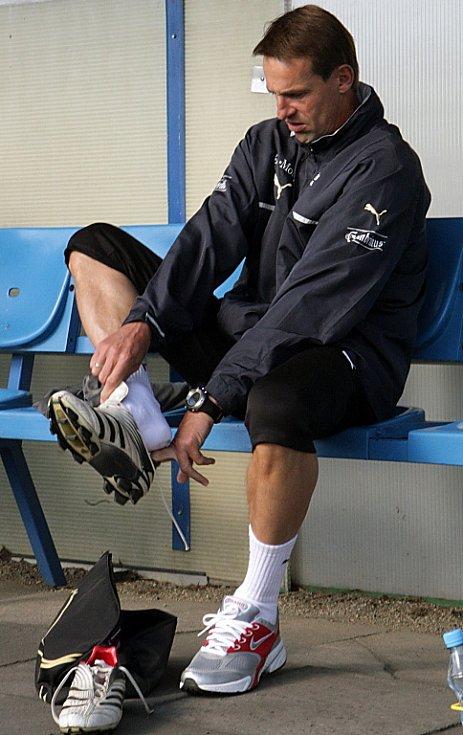 První trénink pod trenérem Františkem Strakou trval bez deseti minut dvě hodiny. Hráči si ho pochvalovali pro dynamiku a zábavnost.