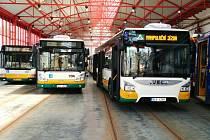 Nový autobus Iveco zcela vpravo