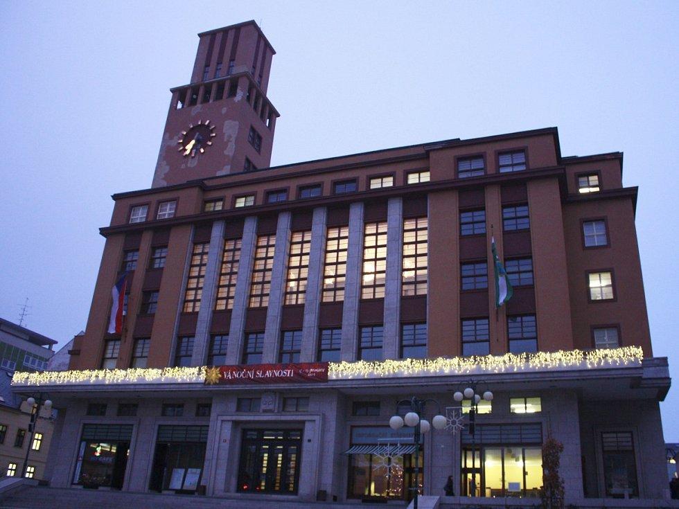 Jablonecká radnice - ilustrační snímek