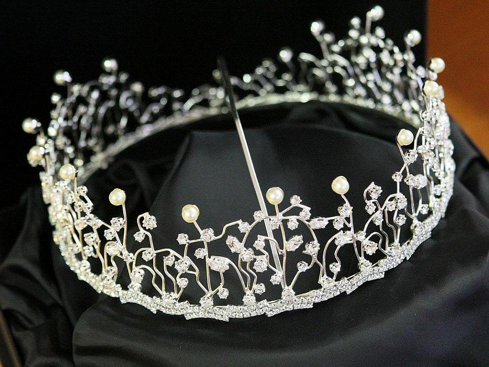 Korunka pro Miss junior USA.