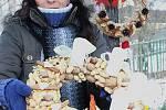 Za hospůdkou Čárda uspořádali v Josefově Dole vánoční trhy pro místní i lidi ze širokého okolí.