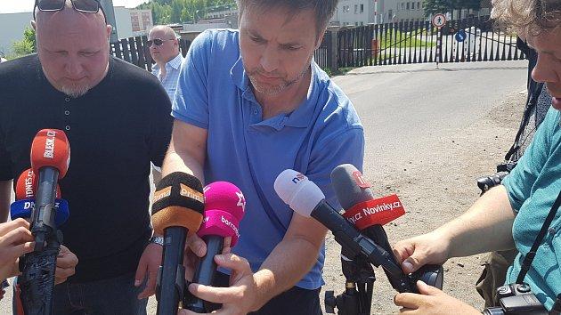 Jiří Kajínek po propuštění z vězení