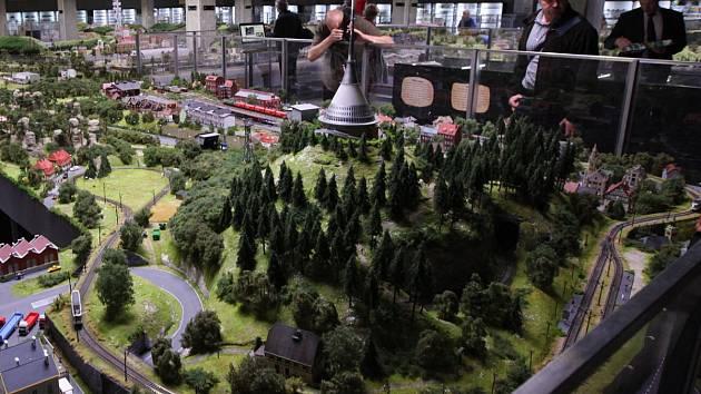 Otevření další části největšího modelového kolejiště ve střední Evropě
