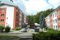 Zateplené pavilony desenské školy.